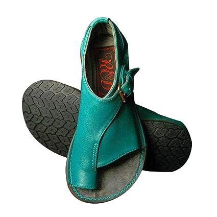 a315e117 Goglor Cómodos Zapatos Ortopedicos Mujer Plataformas Planas Sandalias, Toe  Bunion Terapia Corrección Sandalias Mujer Niña