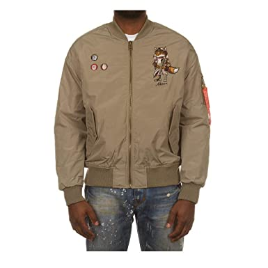5d9d39cfbb2 Akoo Airfield Bomber Jacket at Amazon Men s Clothing store
