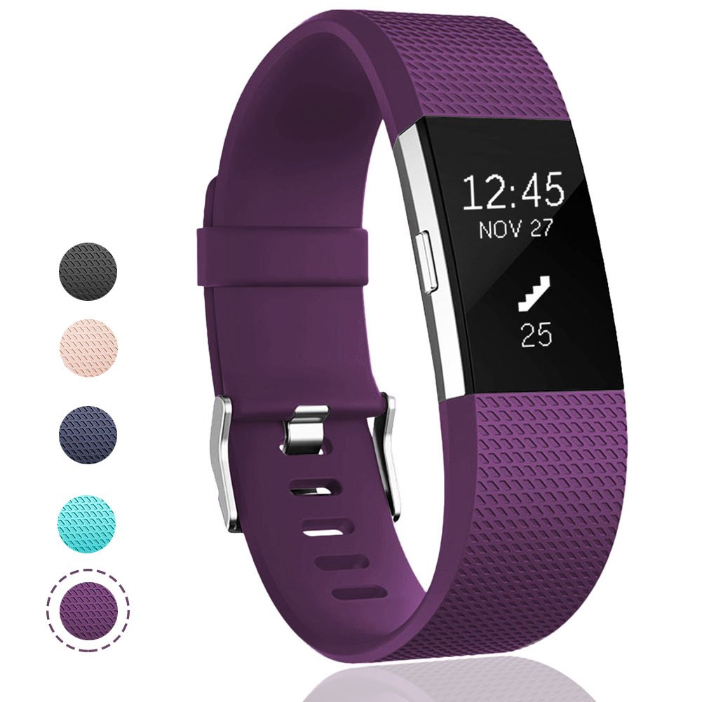 Geak Fitbit Charge 2バンド、Special Edition交換用バンドfor Fitbit charge2 Large Small 12異なる色 B07B8GXS3W Small for 5.5