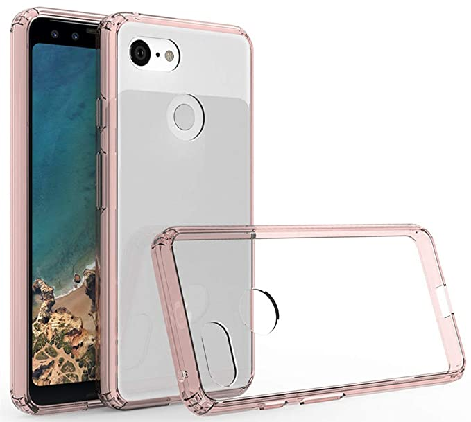 detailed look 18dab fe398 Google Pixel 3 Case,Yiakeng Waterproof Wallet Slim Soft Protection Phone  Cases for Google Pixel 3 (Rose Gold)