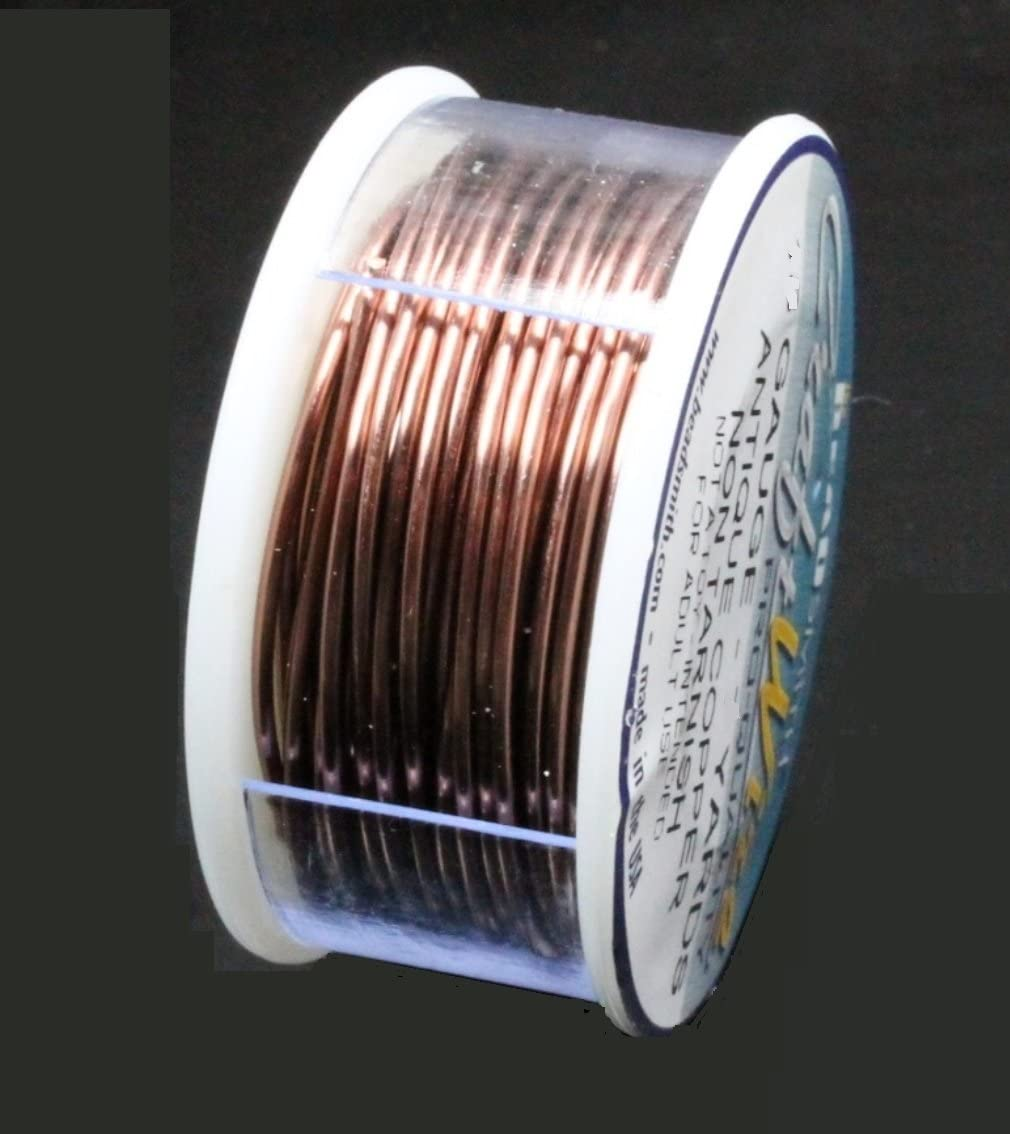 30 Yards Of Color Coated Copper Jewelry Making Bead Craft Wrapping Wire 26 Gauge