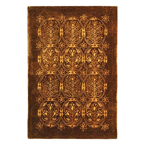 Safavieh Taj Mahal Collection TJM102A Handmade Traditional Olive Wool Area Rug (10' x 14') - Taj Mahal Olive Rug