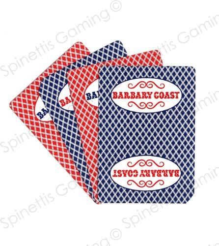 Casino Playing Cards - Barbary Coast Las Vegas, Nevada 2 Used Decks Closed Las Vegas Casino