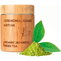 MATCHITA - Té Verde Matcha Orgánico en Polvo   100% EU-BIO   Grado Más Alto   Bebida Japonesa de Grado Ceremonial…