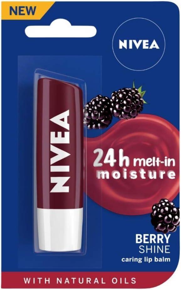 Nivea Lip Care Fruity Shine, Blackberry