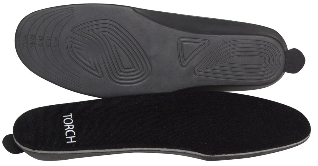 Battery Powered Heated Insoles for Men & Women- Use Hunting, Working, Skiing (Medium)