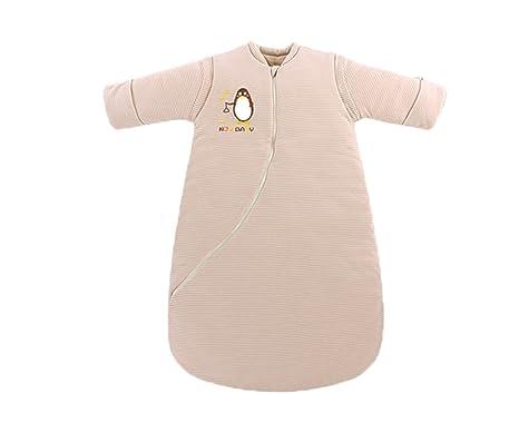 kleitung bebé saco de dormir Saco de dormir para bebé, mangas desmontables calientes, en