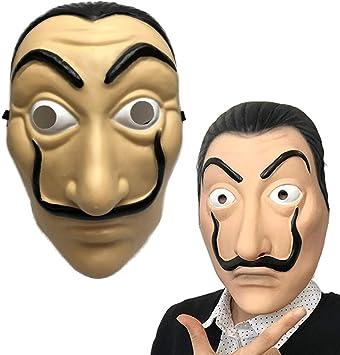 Amycute Máscara de Salvador Dali Careta Cosplay Disfraz Máscara de ...