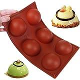 Wady grande 6�demi-spheres Stampo in silicone piatto antiscivolo Rsistant torta di cottura