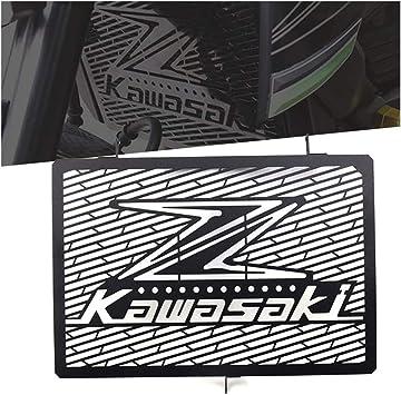 Kawasaki Z750 Z800 Z1000 Motorrad Zubehör Kühler Kühlerabdeckung Kühlerschutz Öl Radiator Motorräder Aluminium Kühlerschutzgitter Kühlergitter Schutzgitter Wasserkühler Wasserkühlerschutz Schwarz Sport Freizeit