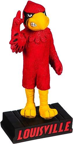 Team Sports America NCAA University of Louisville Fun Colorful Mascot Statue 12 Inches Tall
