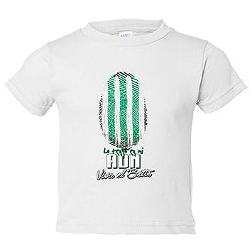 Camiseta niño lo tengo en mi ADN Betis fútbol - Blanco, 3-4 años: Amazon.es: Bebé