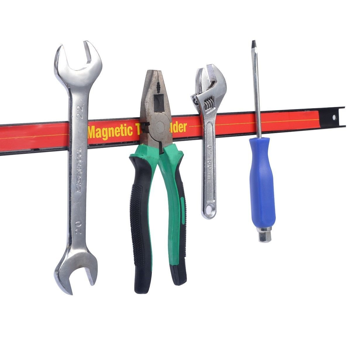 New 24''Magnetic Tool Holder Bar Organizer Storage Rack Knife Wrench Pilers Workshop by totoshop (Image #1)