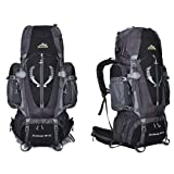 OWMEOT 85L Internal Frame Hiking Backpack for Women