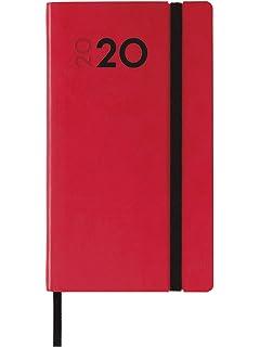 Finocam - Agenda 2020 semana vista apaisada DuoBand Rojo ...