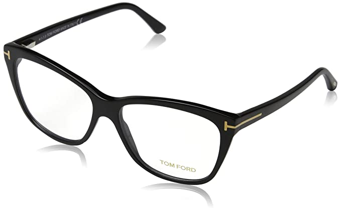 acacf88640 Tom Ford Unisex Adults' FT5512 Optical Frames, Black (Nero Lucido), 54.0