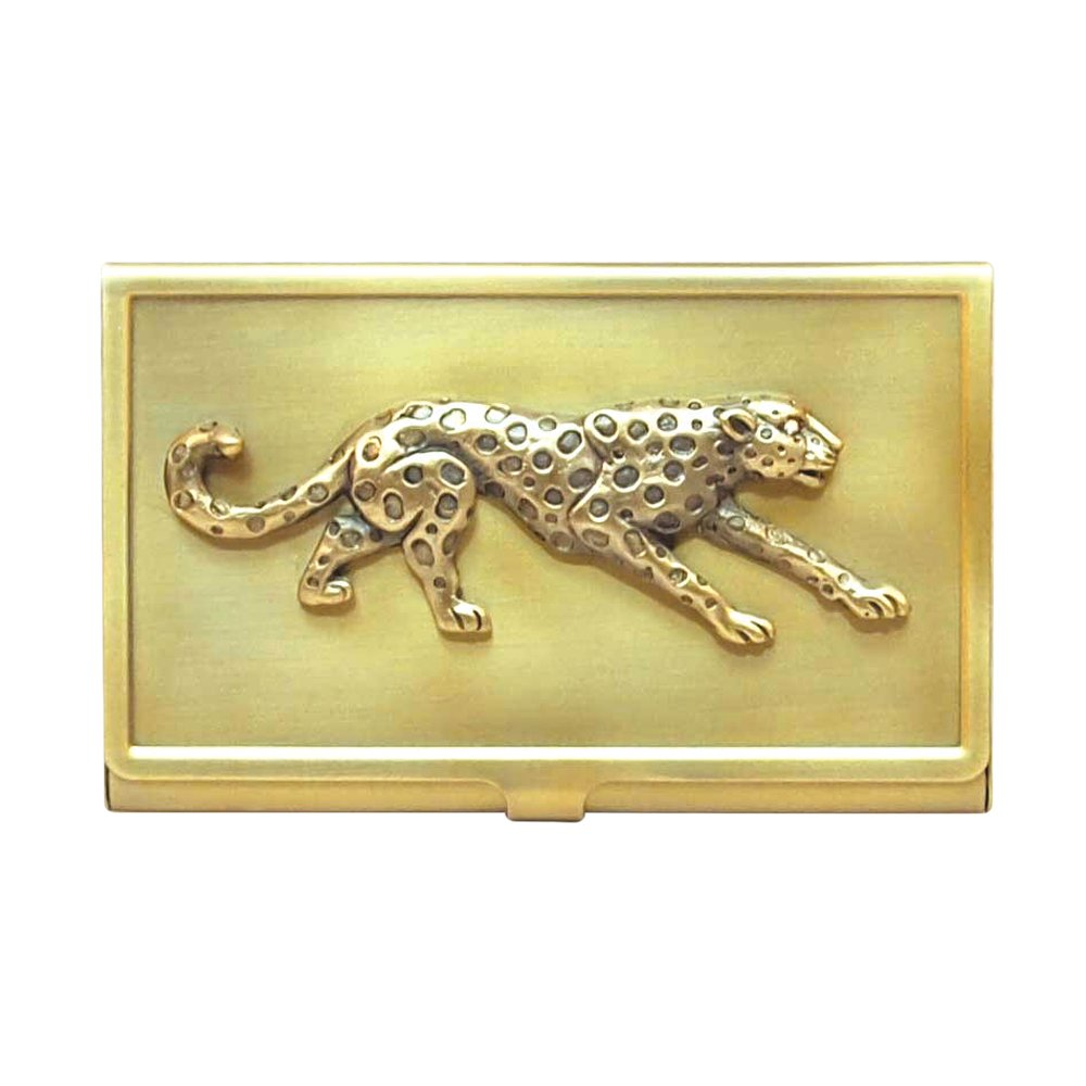 Amazon All For Giving Cheetah Business Card Carrying Case