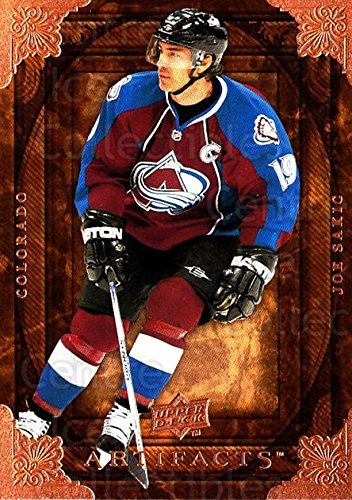 (CI) Joe Sakic Hockey Card 2008-09 UD Artifacts (base) 74 Joe (Joe Sakic Hockey)