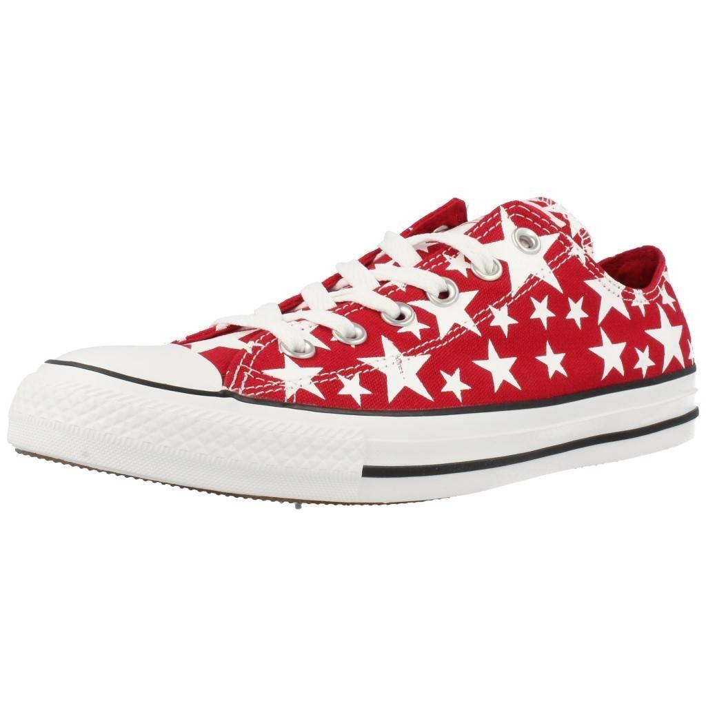 Converse AS Hi Can charcoal 1J793 Unisex-Erwachsene Sneaker  44 EU|rot / wei?