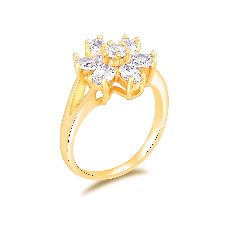 fasherati anillos de cristal bañado en oro rosa para niñas CCR012_crystal jewellery
