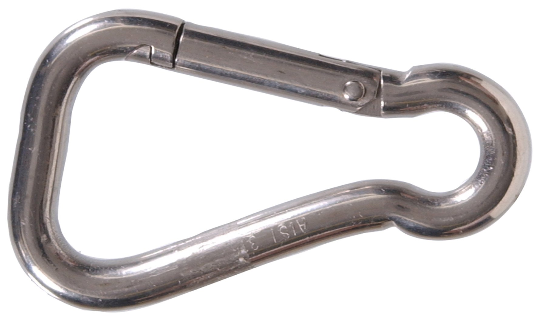The Hillman Group 852028 5/8 In. Stainless Steel Spring Snap Link (3-Pack)
