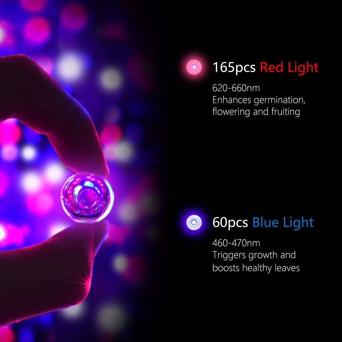 LED Grow Light Bulbs Grow Lamp Light Complete Spectrum Indoor