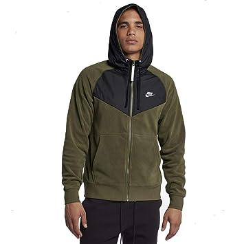Nike Sudadera Capucha y Cremallera Sportswear Mens Full-Zip Hoodie 929114 ...