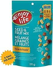 Enjoy Life Seed & Fruit Mix, Soy Free, Nut Free, Gluten Free, Dairy Free, Non GMO, Vegan, Beach Bash, 170 Gram Bags (Pack of 6)