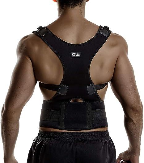 Back Brace Posture Corrector Spinal Support for Women and Men, Lumbar Shoulder Posture Correction for Upper and Lower Back Support, Adjustable