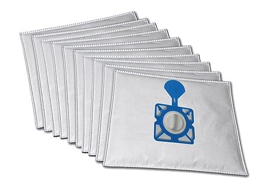 10 Premium bolsas para aspiradora Moulinex 1150 de Luxe ...