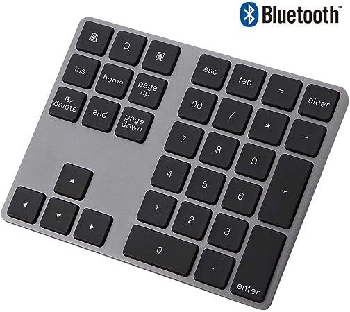 Vbestlife Mini Teclado Numérico Inalámbrico Numpad Bluetooth ...