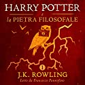Harry Potter e la pietra filosofale (Harry Potter 1) Audiobook by J.K. Rowling Narrated by Francesco Pannofino