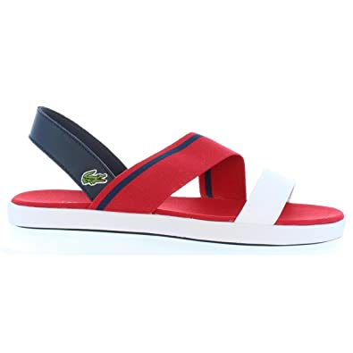 Vivont 33caw1025 Rs7 40 Taille Lacoste Sandales Red 5 Pour Femme Nvy srhQCtd