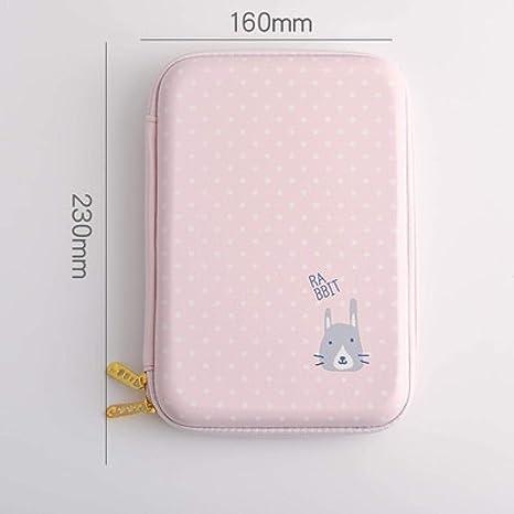 Kawaii - Estuche escolar para lápices de goma EVA para niñas, diseño de cartuchos, incluye caja: Amazon.es: Juguetes y juegos