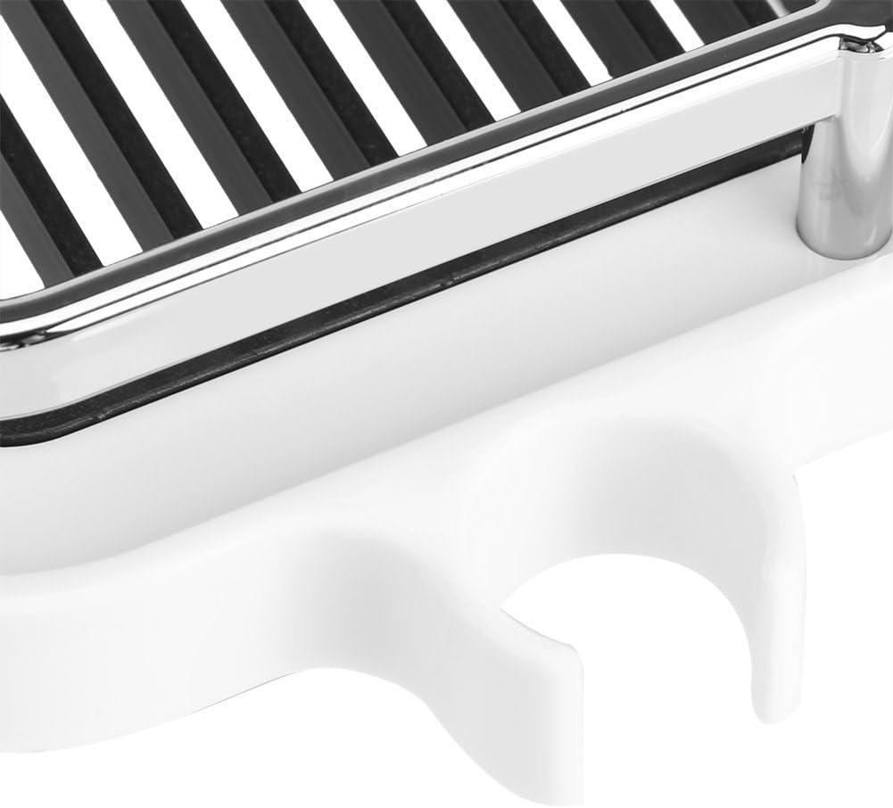 ABS Vassoio portaoggetti per Doccia con ripiano portaoggetti Pratico con Ganci per WC