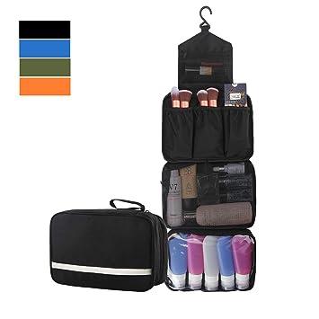43e21e14b1ac MONSTINA Toiletry Bag/Cosmetic Case Toiletry Travel Bags Hanging Cosmetic  Pouch Cosmetic...