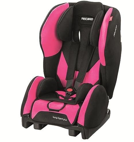 Recaro 61352121166 - Silla de coche Microfibra Pink, Grupo ECE 1 (color negro/rosa)