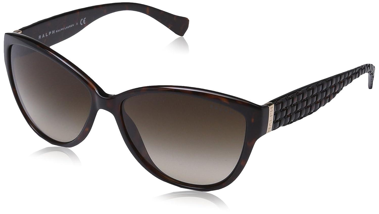 TALLA 58. Ralph Lauren RALPH BY Ra5176 Gafas de sol, Tortoise, 58 para Mujer