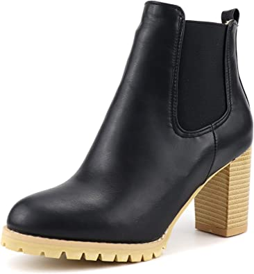 MENGOU Ankle Bootie for Women Girls
