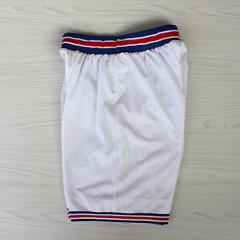 RONSHIN Sports Goods Retro Mesh Cool Shorts Casual Sports Basketball Squad Shorts Fashion Short Pants