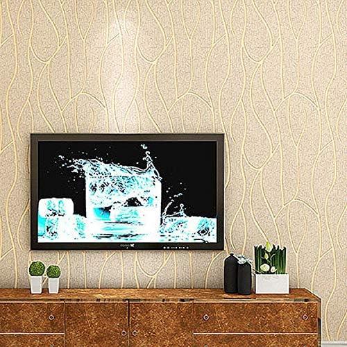 壁紙 レンガ 防音シート 防水 壁紙 断熱 DIYクッション シール シート立体 壁用 壁紙 はがせ 不織布現代のミニマリストの壁紙テレビの背景の壁不織布壁紙環境保護ウォールペーパー壁紙 (Color : D)