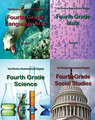 Download 1st Choice Homeschool Fourth Grade Textbook Package – Student Edition (1st Choice Homeschool Digital) Pdf