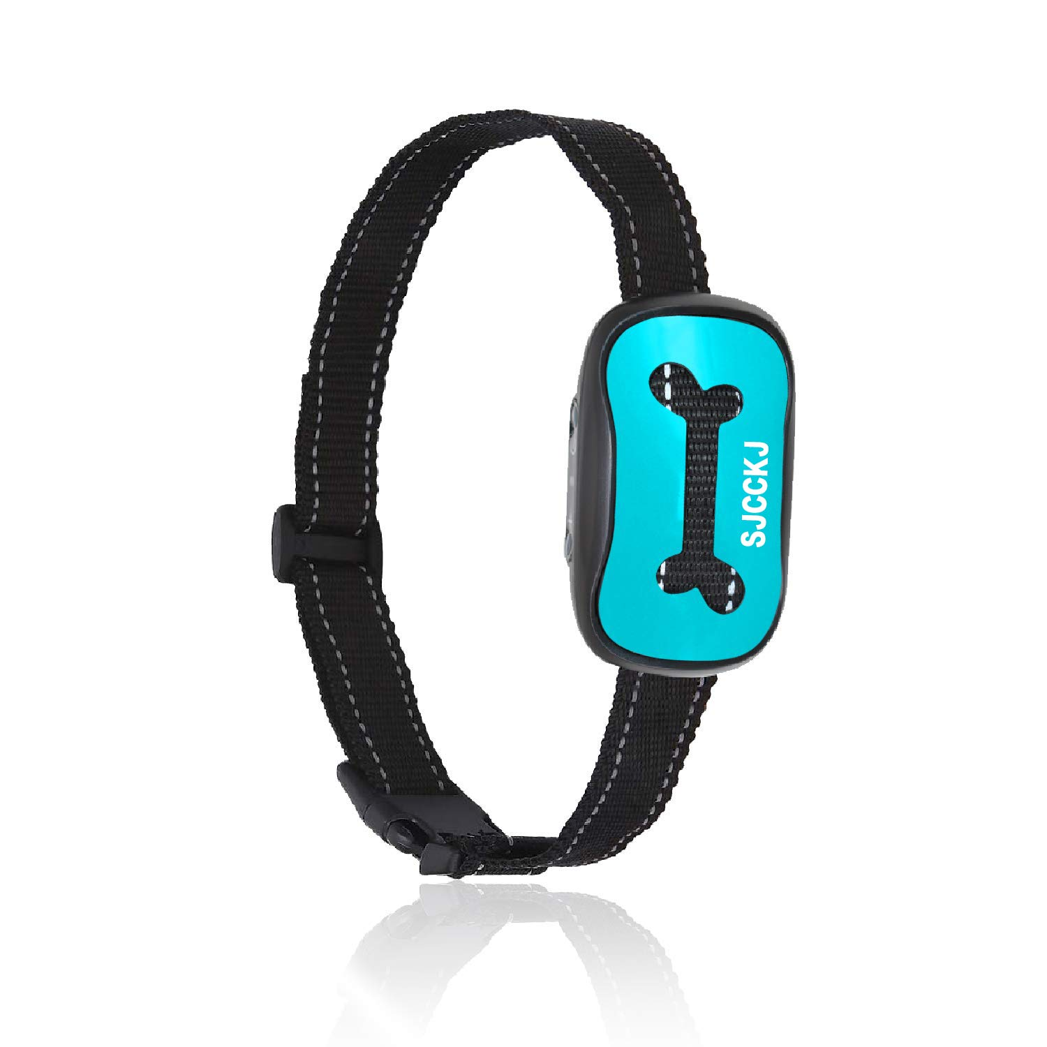 SJCCKJ Newest 2019 Rechargeable Bark Collar – Upgraded Smart Humane Dog Anti-Barking Device – Vibration, Beep Mode for Small, Medium, Large Dogs All Breeds – IPX5 Waterproof