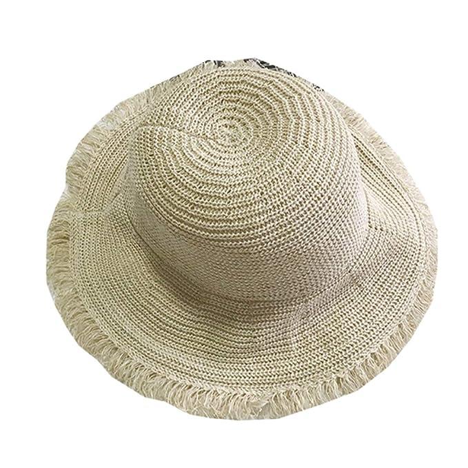 Sombrero De Verano para Mujer Sombrero De Sol para Mujer Sombrero De ...