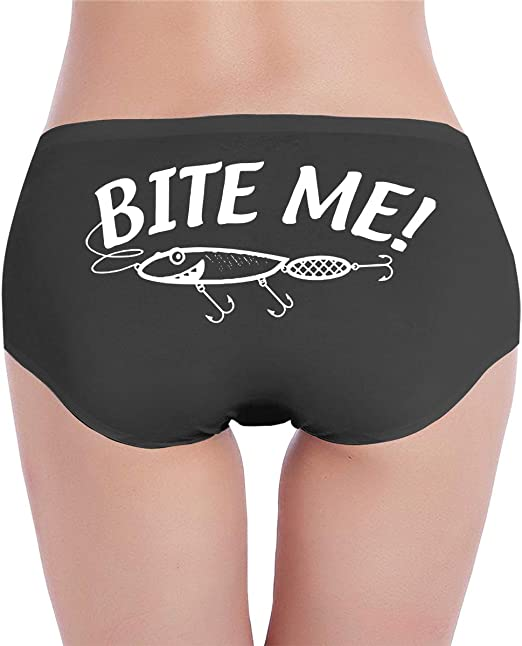 Womens Cotton Underwear Hipster Panties Love Boston Breathable Brief