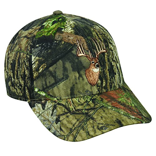 Deer Hunting Hats - Hunting Camo Whitetail Deer Blended Cap Hat 230,Hunting Camo,One Size Fits Most