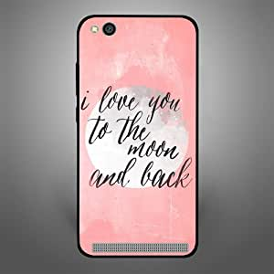 Xiaomi Redmi 5A I love you to the moon, Zoot Designer Phone Covers