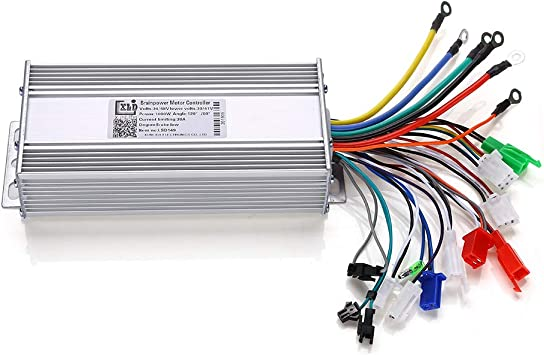 Fast shipping 36//48V 1000W Brushless DC Sine Wave Controller+Twist Throttle
