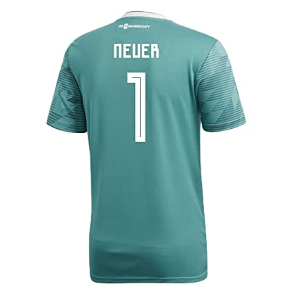 0b0a3575d adidas NEUER  1 Germany Away Soccer Stadium Men s S S Jersey World Cup  Russia