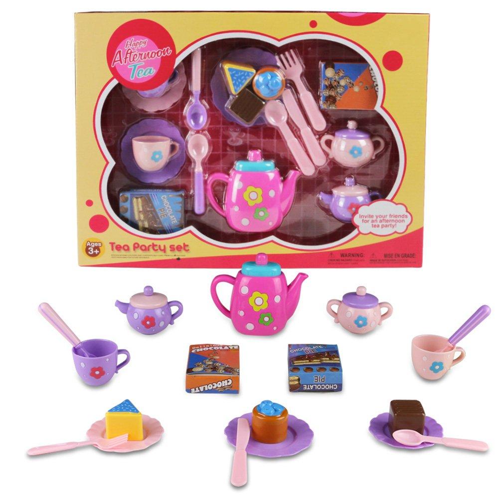 Tee Set Kinder, Tee Party Set, Spielzeug Tee Set, Kaffee und ...